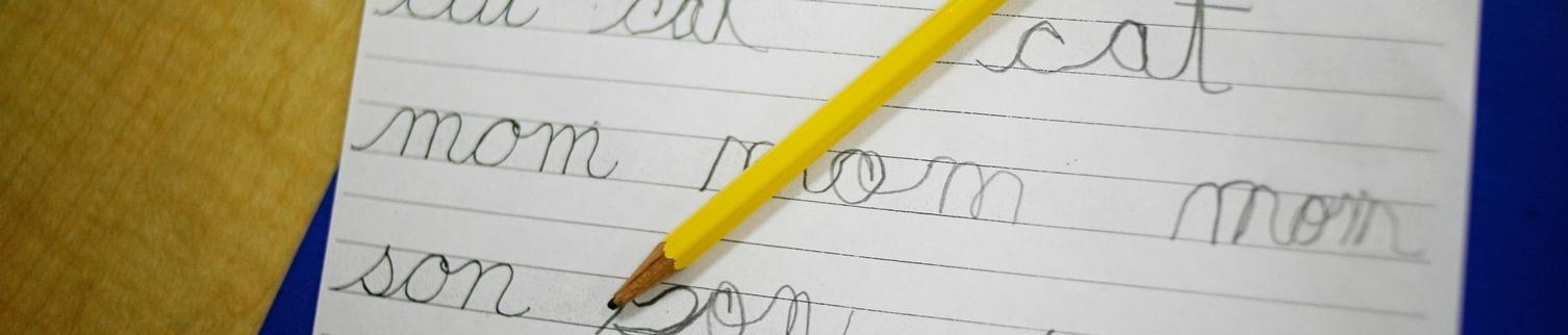 Primary writing sample