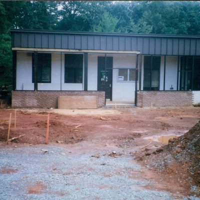 partially built elementary building, main campus