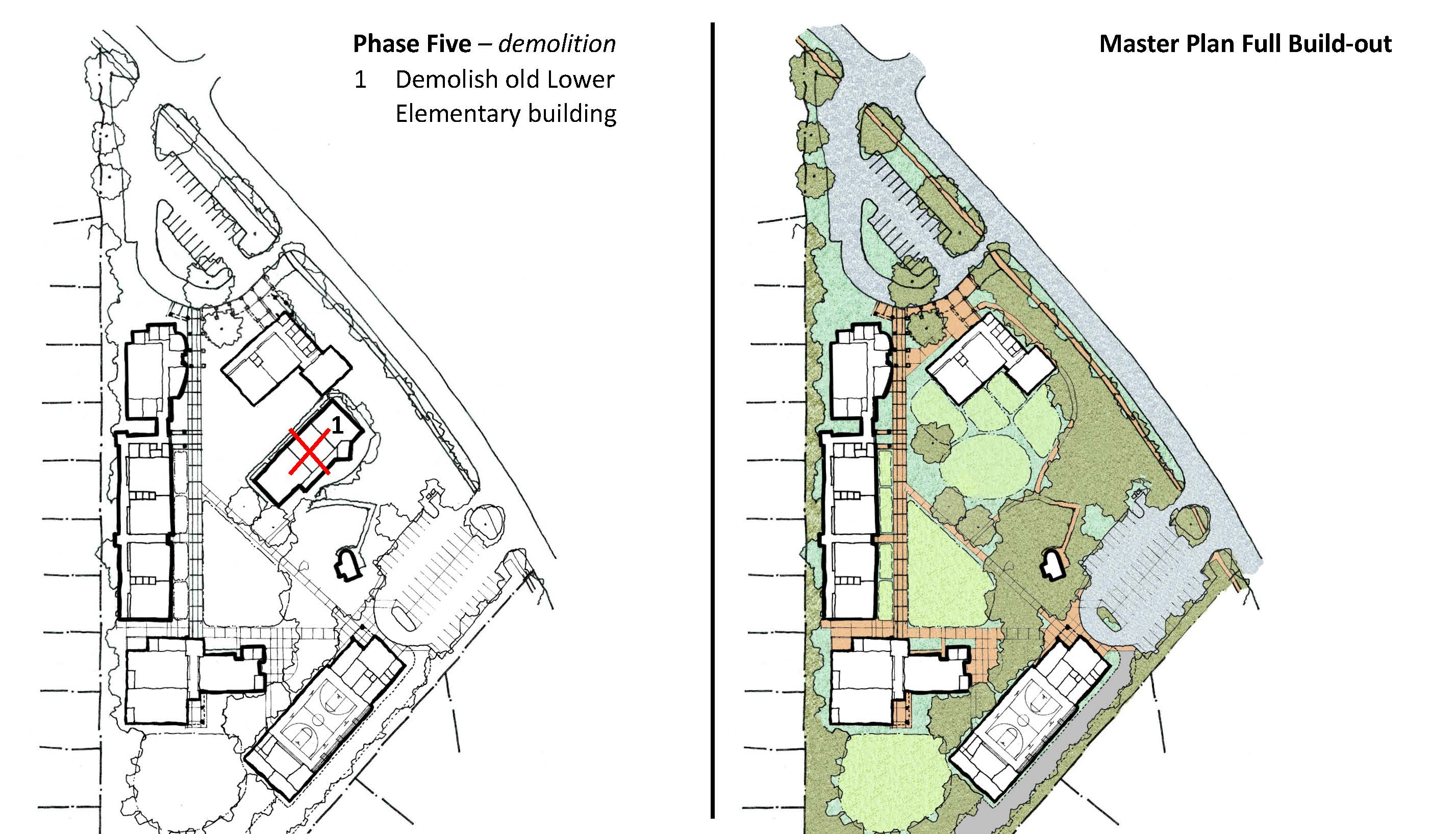 view the campus master plan